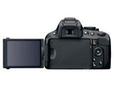 Nikon D5100 LDC screen