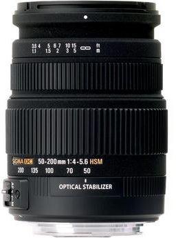Sigma 50-200mm f/4-5.6 DC OS HSM