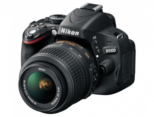 Nikon D5100 product image front angle