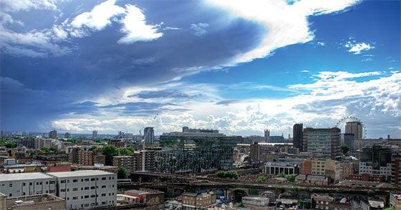 HDR cityscape