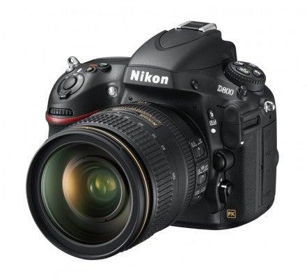 Nikon D800 front quarter