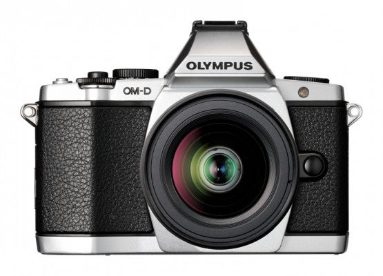 Olympus OM-D E-M5 front