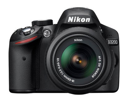 Nikon D3200 product sample image front
