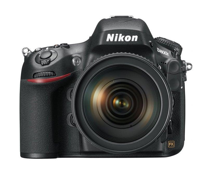 Nikon D800 front view