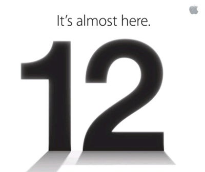 Apple iPhone 5 invitation