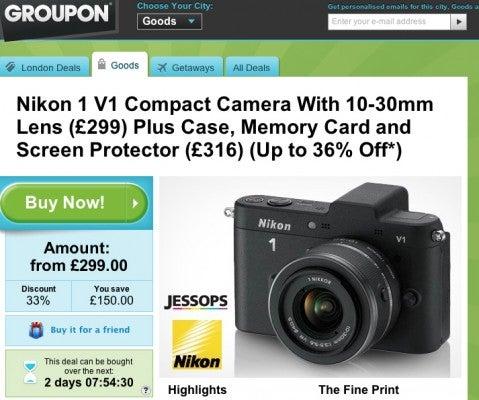 Nikon 1 V1 Groupon