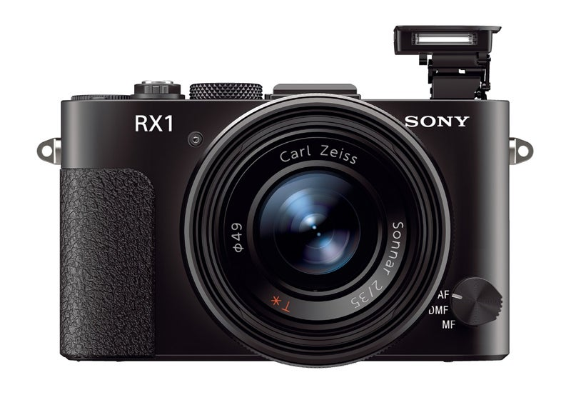 Sony RX1 flash up