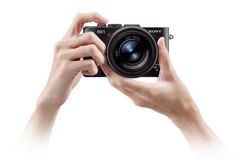 Sony RX1 in the hand