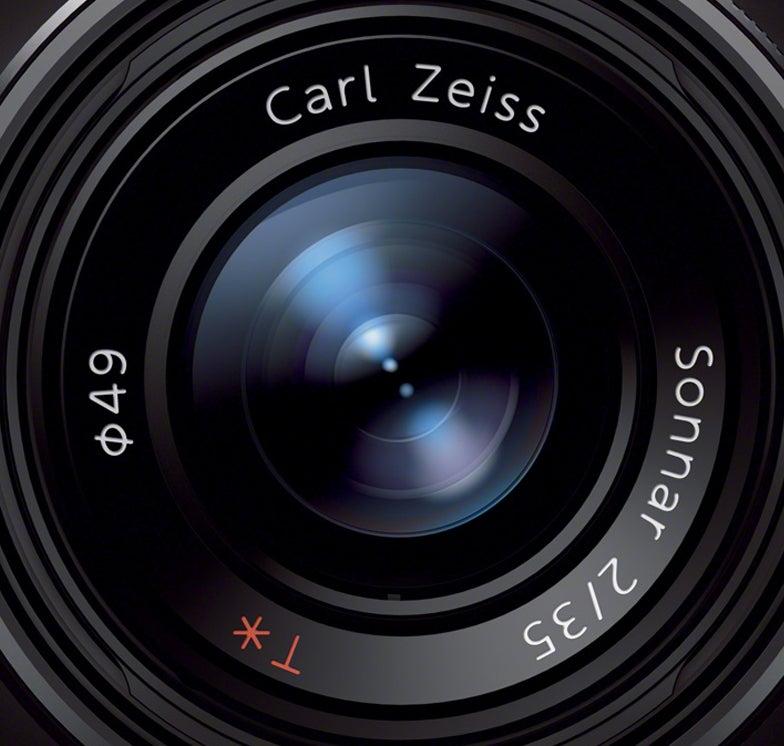 Sony RX1 lens close-up