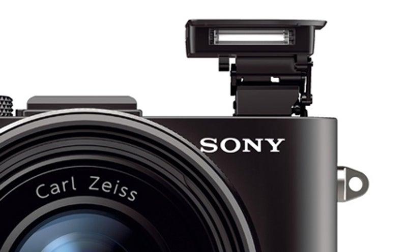 Sony RX1 flash detail