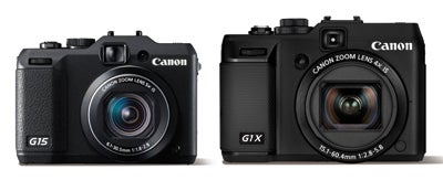 Canon Powershot G1 X vs G15