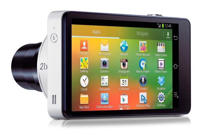 Samsung Galaxy Camera rear LCD screen