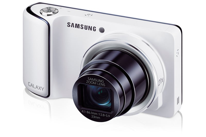 Samsung Galaxy Camera front angle view