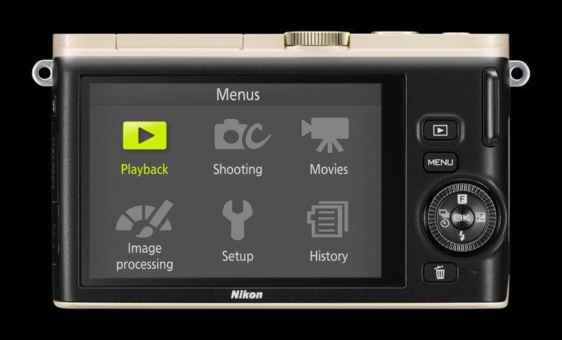 Nikon 1 J3 Screen