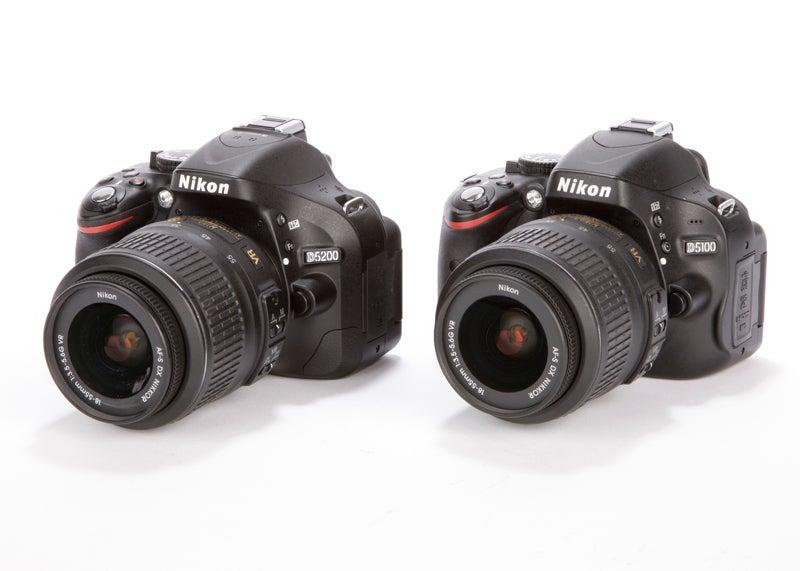 Nikon D5200 And The Nikon D5100