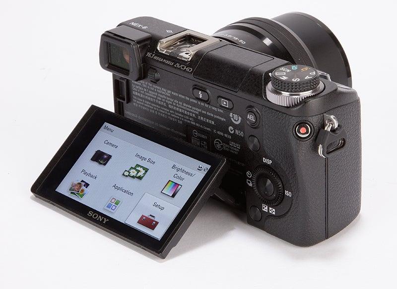 Sony NEX-6 rear view