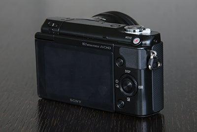 Sony NEX-3N rear