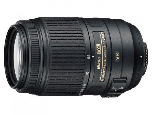 Nikon 55-300mm f4.5-5.6 product shot