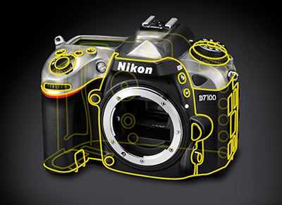 Nikon D7100 technical diagram