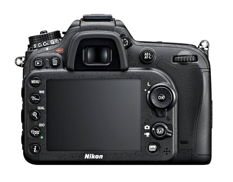Nikon D7100 LCD screen