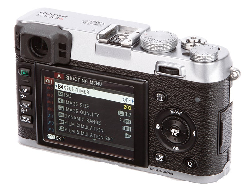 Fujifilm X100S rear view