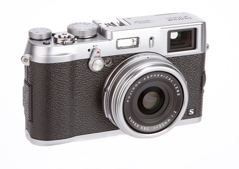 Fujifilm X100S front angle
