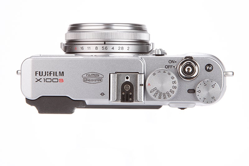 Fujifilm X100S top view