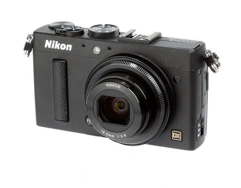 Nikon COOLPIX A angled