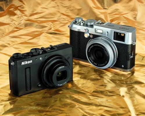 Nikon COOLPIX A v Fujifilm X100S opener