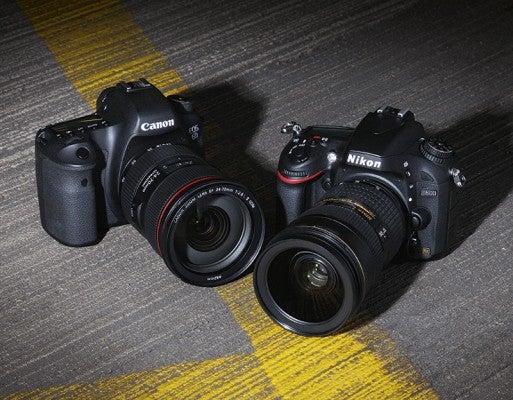 Nikon D600 vs. Canon EOS 6D opener