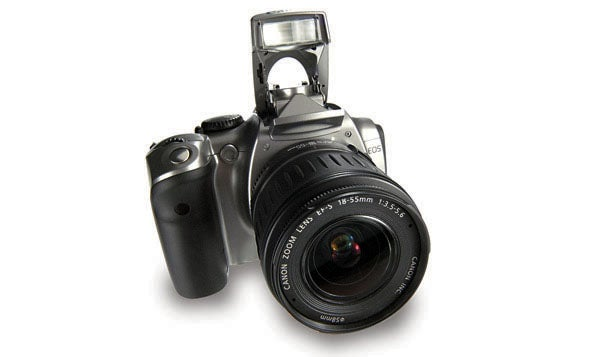 16 digital cameras that changed the world - canon eos 300d