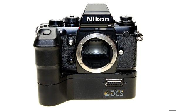 16 digital cameras that changed the world - Kodak dcs 100