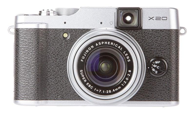Fujifilm X20 front view