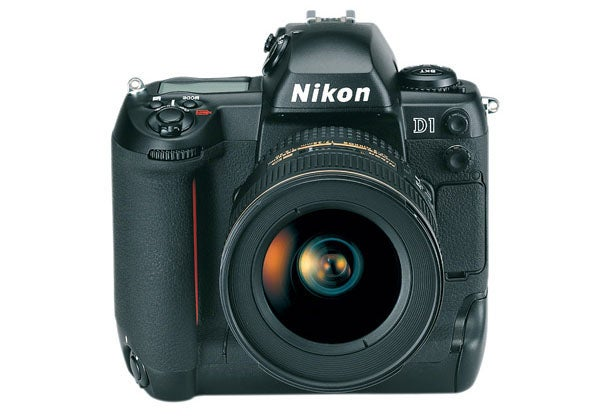 16 digital cameras that changed the world - nikon d1