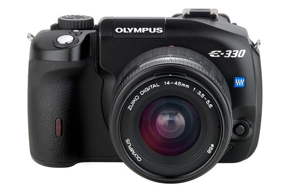 16 digital cameras that changed the world - olympus e330