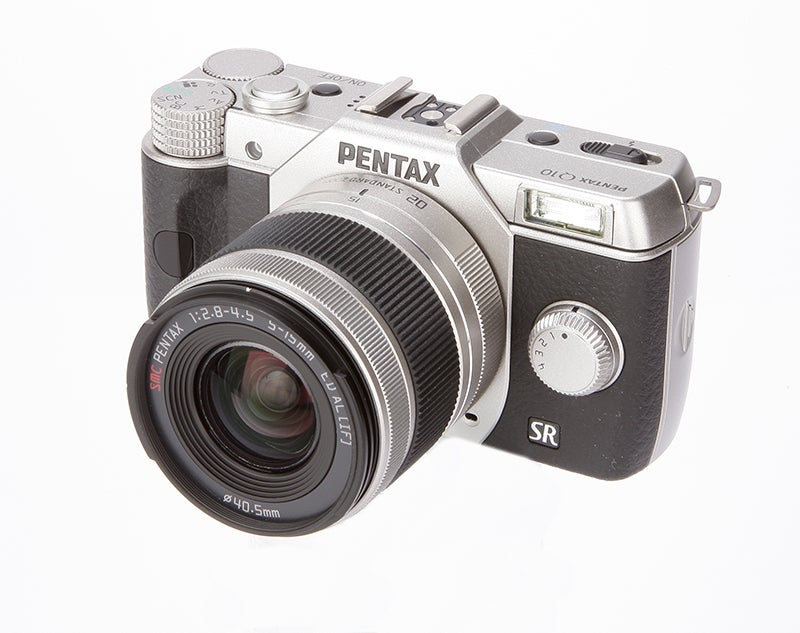 Pentax Q10 side view