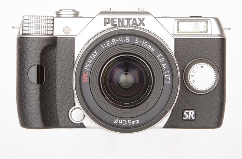 Pentax Q10 front view
