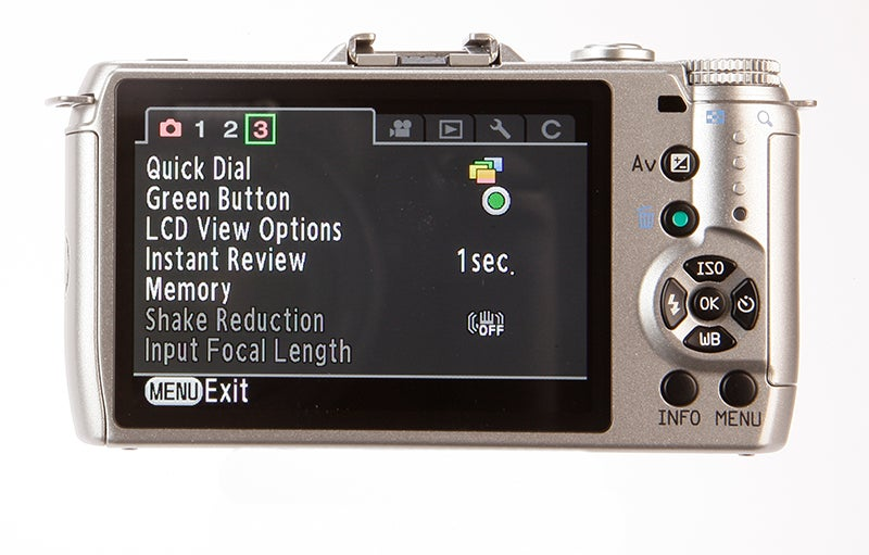 Pentax Q10 LCD screen