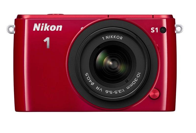 Nikon 1 S1 front review