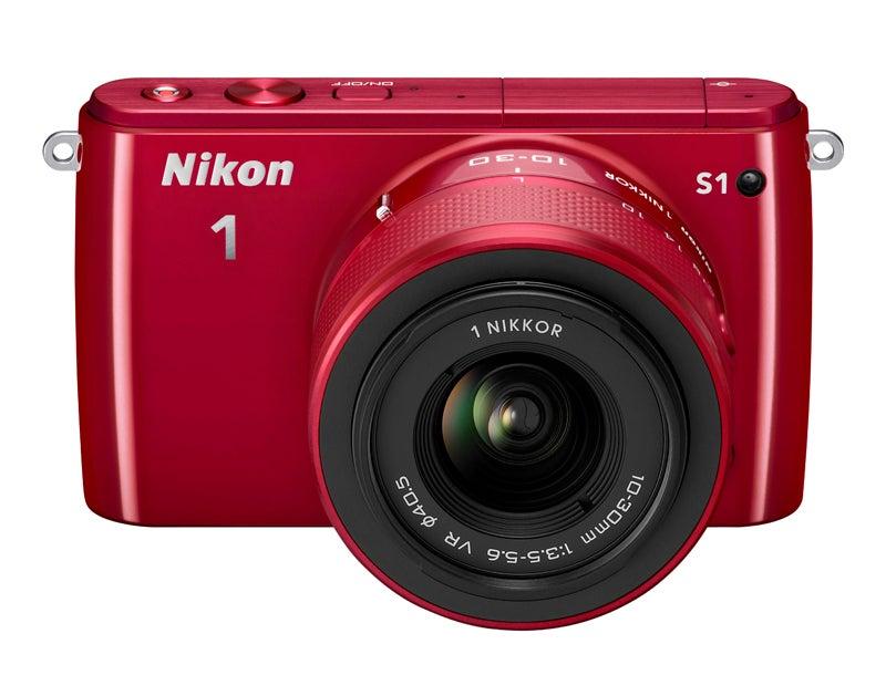 Nikon 1 S1 front top