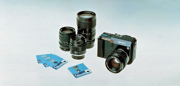 16 digital cameras that changed the world-Sony Mavica