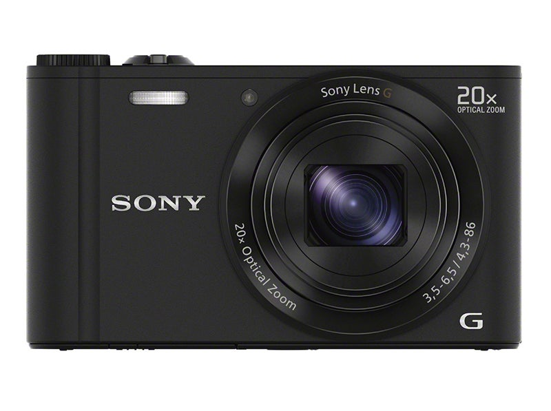 Sony WX300 front view