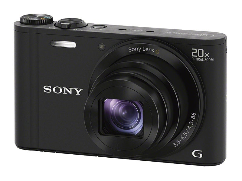 Sony WX300 front angle