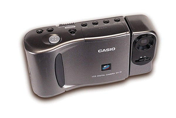 16 digital cameras that changed the world - casio qv-10