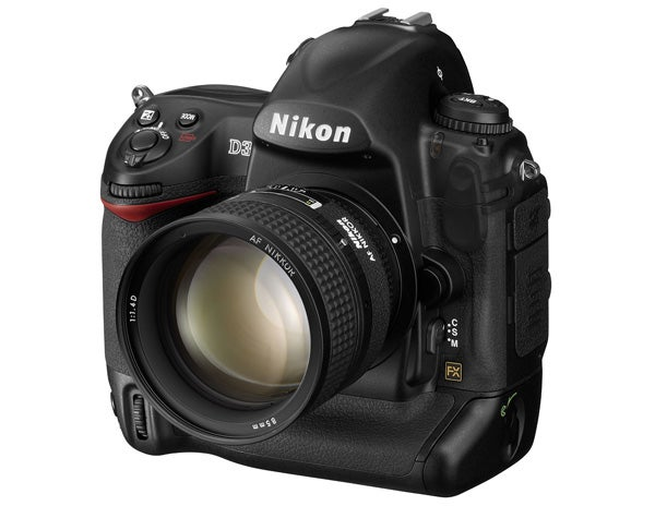 16 digital cameras that changed the world - Nikon D3 front view