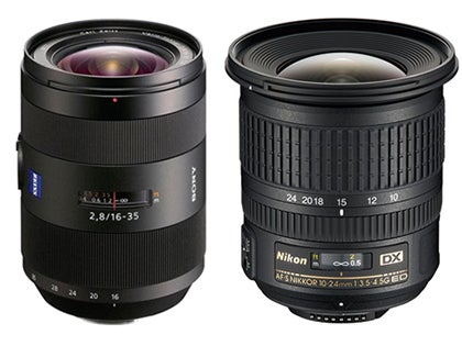 for sony a mount users there is the 16 35mm f28 za ssm vario sonnar t lens 1349 and theres a good selection of full frame wideangle zoom lenses