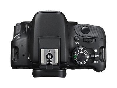 Canon EOS 100D top view