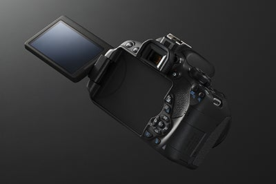 Canon EOS 700D tilt screen
