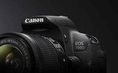 Canon EOS 700D angle 2