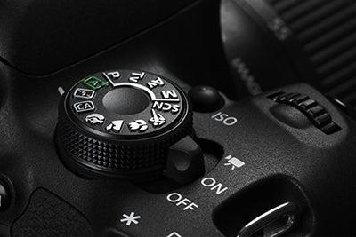 Canon EOS 700D mode dial